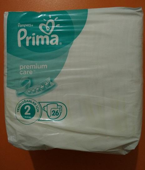 پریما ضد حساسیت ترک سایز دو 26 تایی