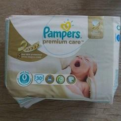 پریما پمپرز لهستان سایز  صفر برای کودکان 2 و 3قلو و نوزاد نارس